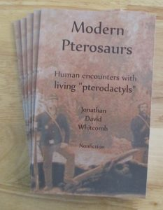 "Whitcomb's nonfiction paperback ""Modern Pterosaurs"""