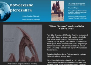 """Hungarian web page image with title """"nowoczesne pterozaura"""""""